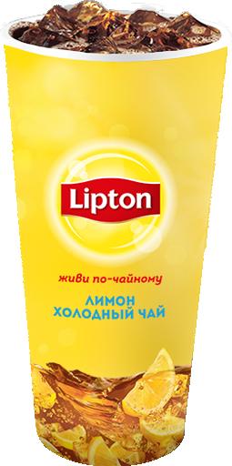 Чай Липтон Лимон 0,3 л
